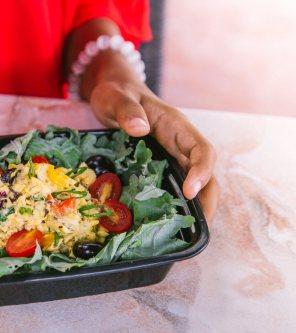 Wright Life raw ackee salad